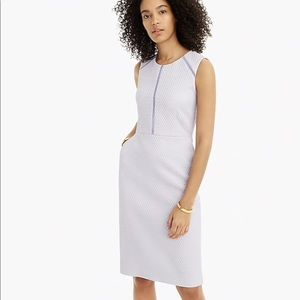 J.Crew Portfolio dress in sweet hyacinth size:4